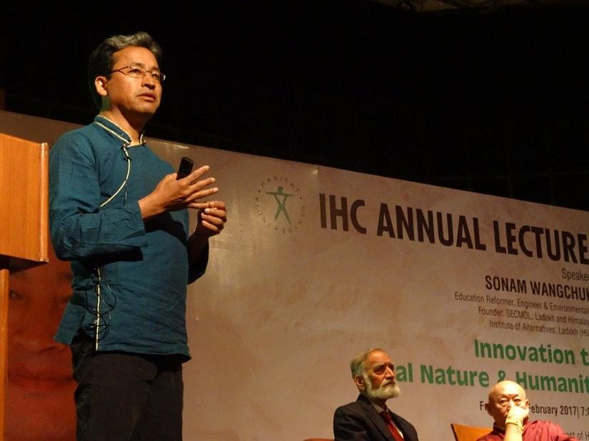 Sonam Wangchuk. Image via Facebook