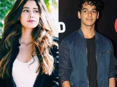 Jhanvi Kapoor and Ishaan Khatter. Images from Instagram and GQ