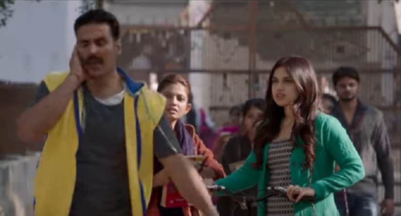 Has Mat Pagli from Toilet: Ek Prem Katha is a light, upbeat number; but whats with the odd video?