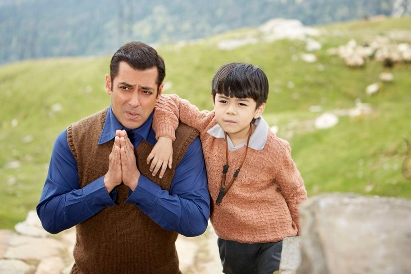 Salman Khan with Matin Rey Tangu in Tubelight. Image via Twitter