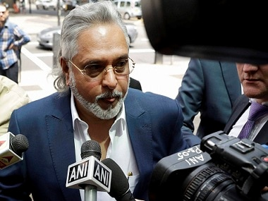 Vijay Mallya arrives for his extradition hearing at the Westminster Magistrates' Court on Tuesday. PTI