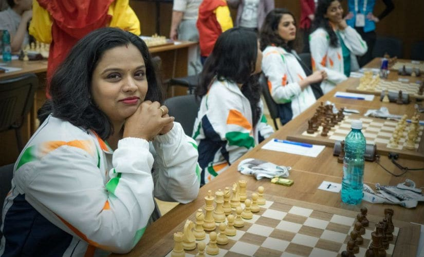 Indian women gearing up before crushing Egypt.