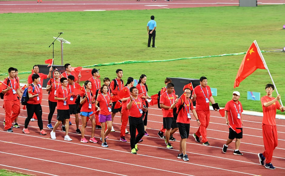 China, who are the most successful team in the Asian Athletics Championship, have fielded 58 athletes in this edition. AFP