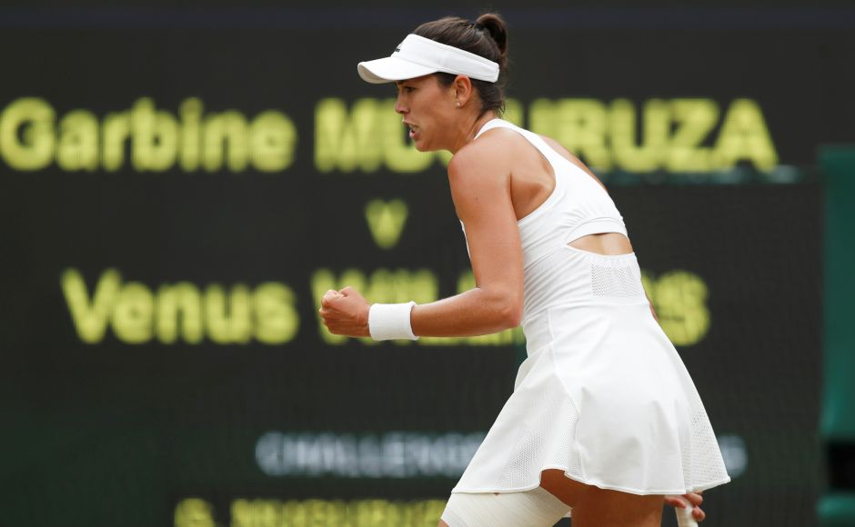 Muguruza took the first set by breaking Venus for 7-5 with some aggressive tennis. Reuters