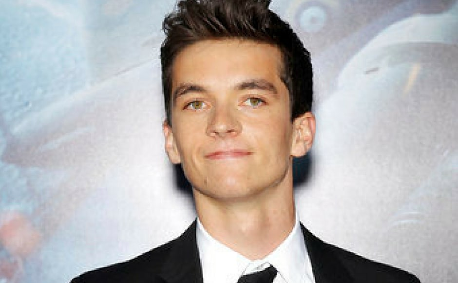 Fionn Whitehead, who plays one of the lead characters in the film at the premiere of Dunkirk (AP Photo)