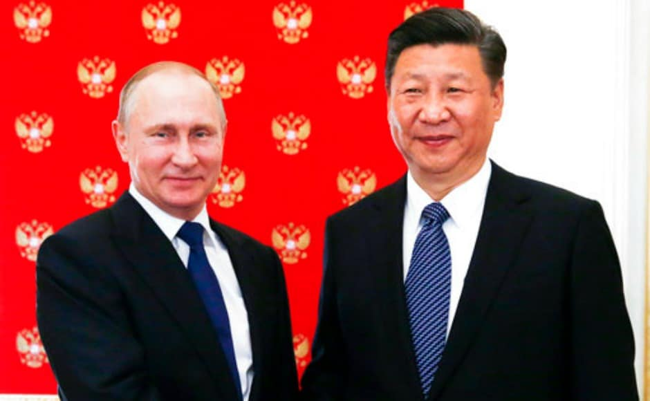 Before leaving, Xi had commented that China and Russia's relations are at the