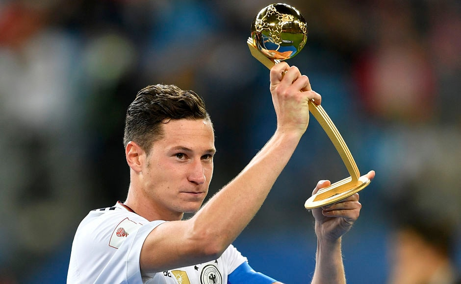 In the awards ceremony that followed the match, Germany captain Julian Draxler was conferred with the 'Golden Ball' - best player award. AP