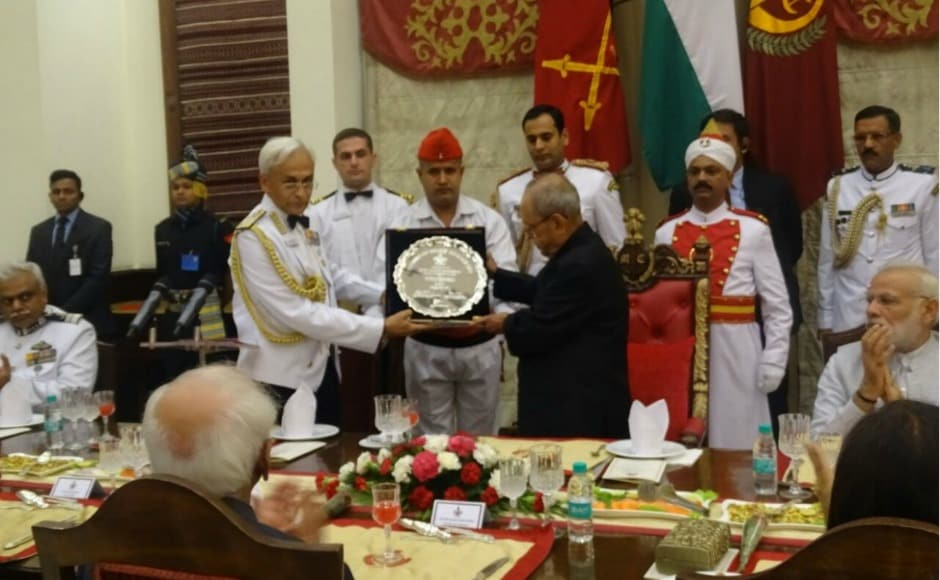 The president, who was presented mementos by the chiefs of the armed forces, interacted with multiple senior military officers and in his farewell address, extended his wishes to all members of the forces and their families. Twitter @adgpi