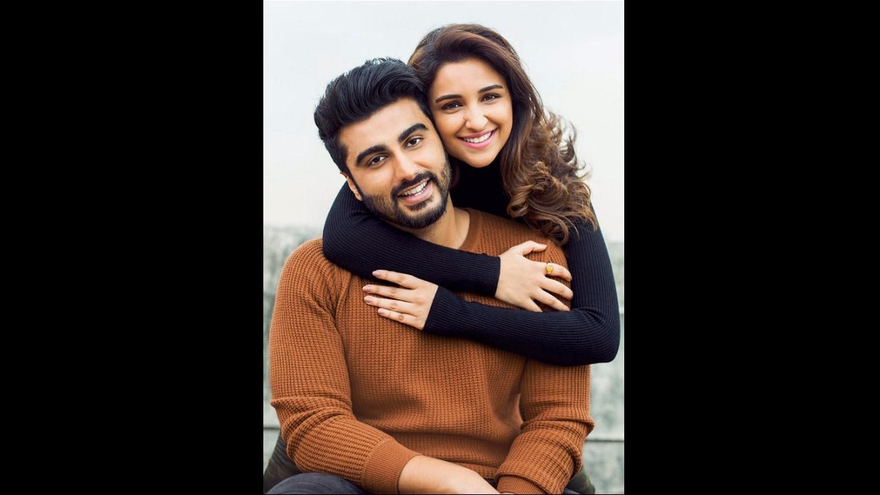 Arjun Kapoor and Parineeti Chopra. Image from Twitter.