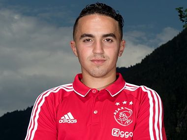 Image fo Ajax Amsterdam player Abdelhak Nouri , who collapsed during a training session. Twitter/@AFCAjax_EN