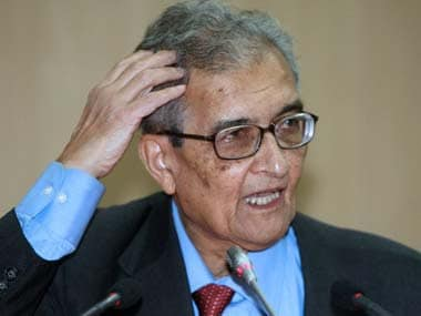 File image of Amartya Sen. AFP