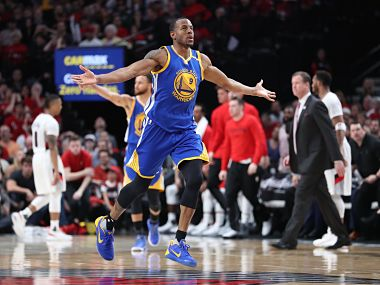 File image of Golden State Warriors' Andre Iguodala. Reuters