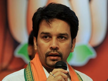 File image of Anurag Thakur. AFP