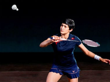 File image of Ashwini Ponnappa. Image courtesy: Red Bull