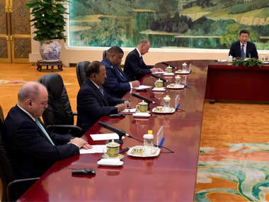Amid Sikkim standoff, Ajit Doval meets President Xi Jinping along with other BRICS NSAs