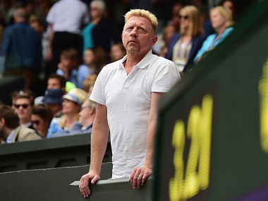 File photo of tennis legend Boris Becker. Getty Images