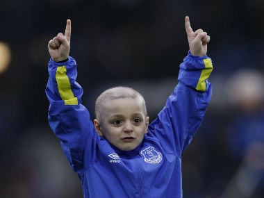 Premier League: Everton to stage celebrity charity match in memory of Bradley Lowery