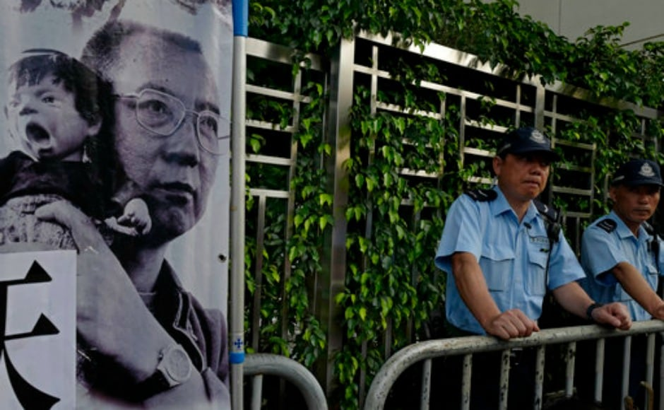 Two foreign cancer specialists examined Liu on Saturday and said on Sunday he could still safely leave the country, contradicting their Chinese counterparts. China has faced international pressure to grant its most prominent dissident complete freedom and let him leave the country since he was transferred from prison to the hospital after being diagnosed with terminal liver cancer in late May. AP