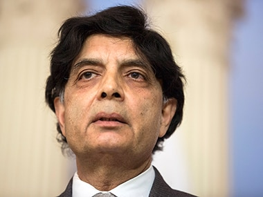 File image of Chaudhry Nisar Ali Khan. Reuters