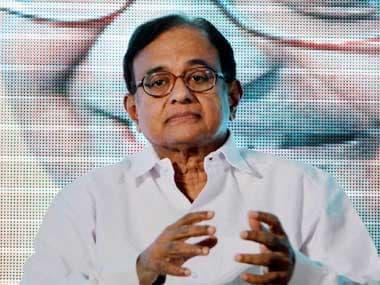 File image of P Chidambaram. PTI
