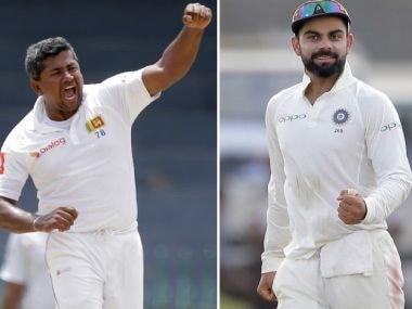 Highlights India vs Sri Lanka 2017, 1st Test, Day 3, Cricket Score, Updates: Virat Kohli and Co end Day 3 with 498-run lead