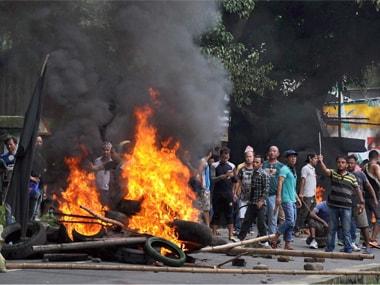 Darjeeling unrest: Gorkhaland supporters clash with cops at Jaigaon, set police vehicles afire