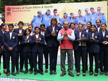 ICC Womens World Cup 2017: Mithali Raj and Co felicitated by Sports Minister Vijay Goel