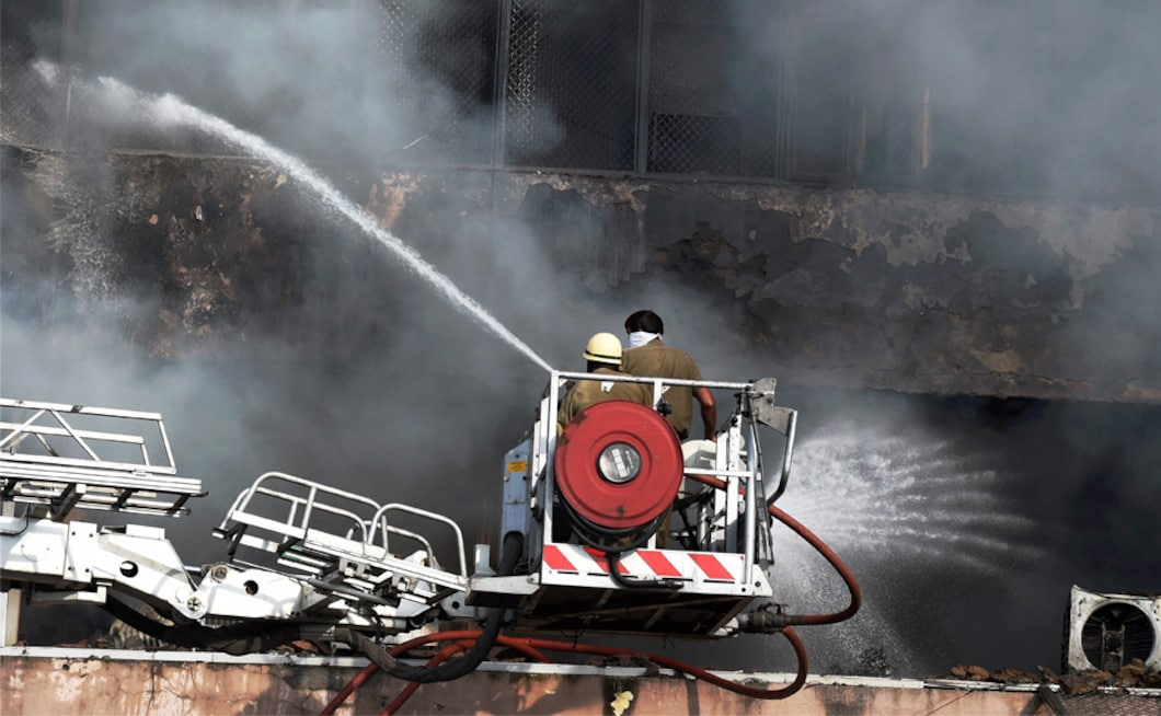 Twenty-six fire tenders rushed to the spot and ten more have been requested for, reported CNN News18. PTI