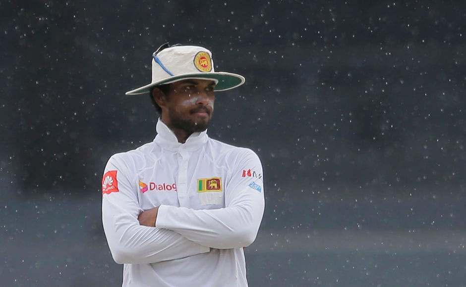 Dinesh Chandimal's Test captaincy certainly didn't begin on a good note. AP