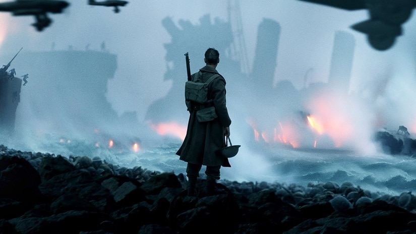 Still from Christopher Nolan's Dunkirk. Image via YouTube