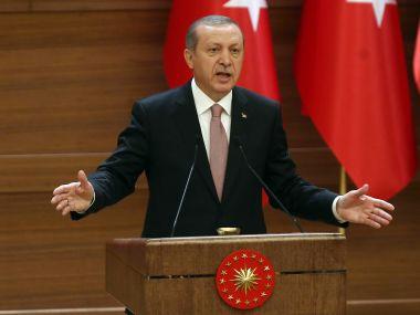 File image of Turkish president Recep Tayyip Erdogan. AFP