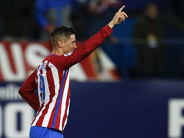 File image of Atletico Madrid's Fernando Torres. Reuters