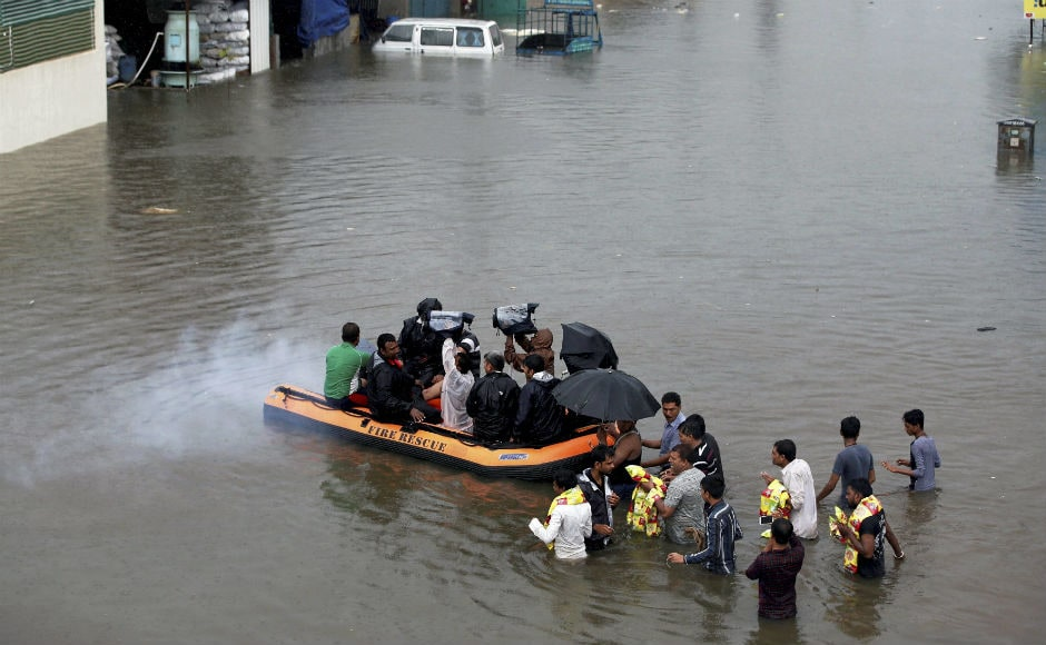 Indian Army, Indian Air Force and NDRF were called in for rescue and relief operations. So far 1,925 people in Gujarat have been rescued. PTI