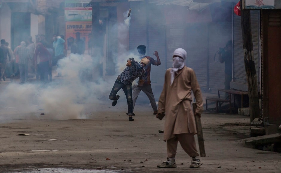 Irate crowds took to streets in Srinagar and Budgam districts to protest the killing of the Hizbul militant, who the local police said played a key role in lynching of DSP Ayub Pandith last month. Reuters