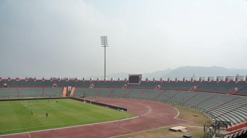 The Indira Gandhi International Athletics Stadium, Guwahati. Image courtesy: FIFA