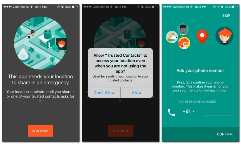 Google Trusted Contacts for iOS (2)