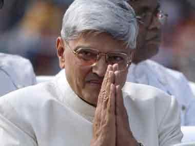 Gopalkrishna Gandhi. AFP