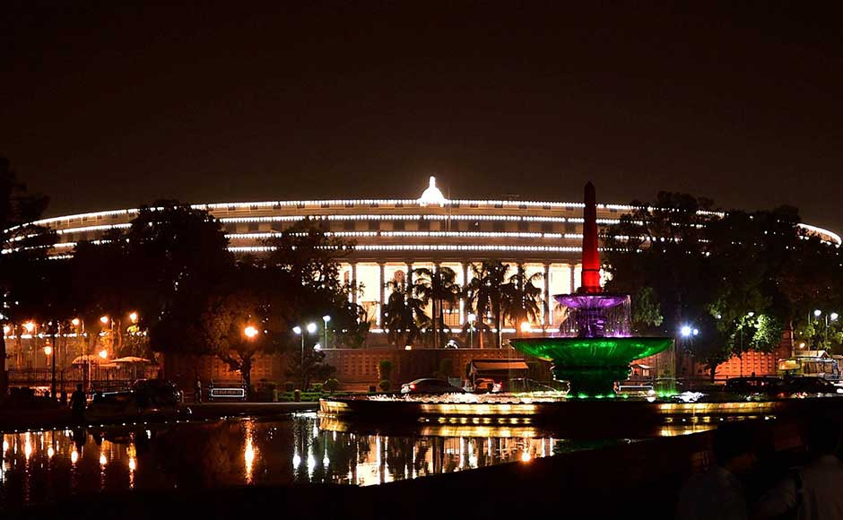 Top leaders, industrialists and economists descended on Friday to witness the launch of the Goods and Services Tax (GST) at the Central Hall of Parliament which opened for a midnight ceremony for the first time in two decades. The last midnight event was held in 1997 on the occasion of golden jubilee of Indian independence. PTI