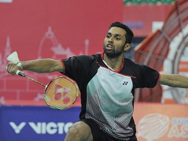 File image of HS Prannoy. AFP