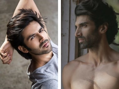 Kartik Aaryan and Aditya Roy Kapur. Images via Facebook