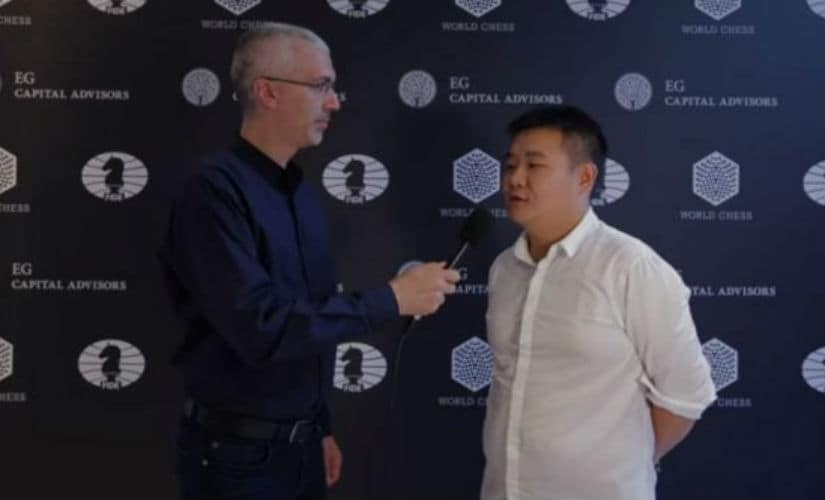 Li Chao, the man who knocked Harikrishna out of contention for the tournament's title prize. Image courtesy: David Llada