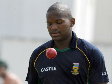 Lonwabo Tsotsobe holds the record for the fastest South African bowler to 50 ODI wickets. AFP