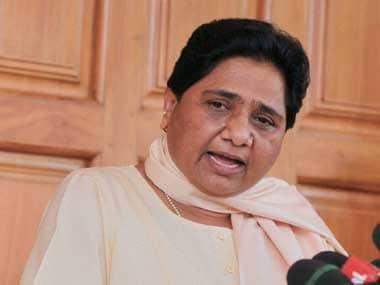 File image of BSP chief Mayawati. PTI