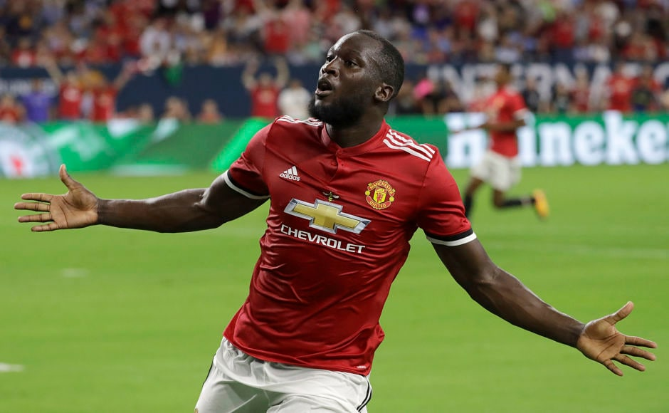 Manchester United signed Romelu Lukaku from Everton for £75 million making him this transfer window's most expensive buy. AP