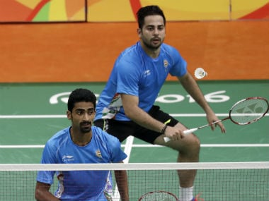 Canada Open GP: Manu Attri, B Sumeeth Reddy reach doubles quarter-finals, HS Prannoy bows out