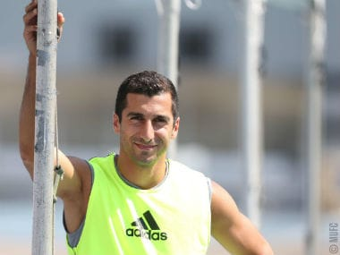 Premier League: Henrikh Mkhitaryan says he is eager to help Manchester Uniteds new players settle in