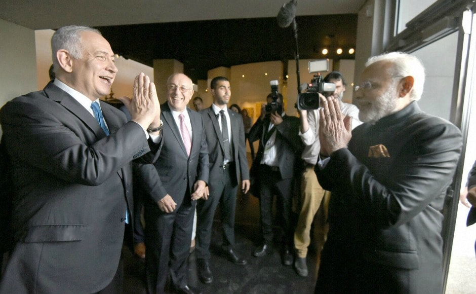 Prime Minister Narendra Modi's visit to Jerusalem, which marks 25 years of diplomatic relations between India and Israel, entered its second day on Wednesday. Seven agreements were signed in sectors ranging from agriculture and IT to water conservation and space. PTI