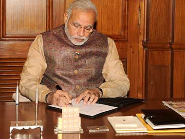 File image of Narendra Modi. Courtesy: PIB