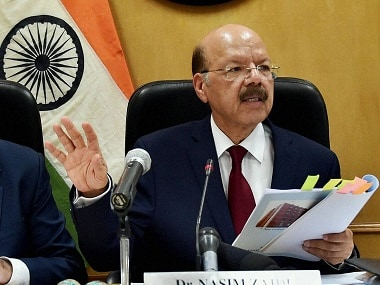 Nasim Zaidi bats for cleaner polls: CEC says disqualify candidates charged with election malpractices, heinous crimes