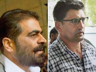 File image of Nayeem Khan and Farrokh Ahmad Dar> PTi